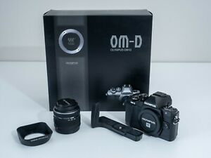 Olympus OM-D E-M10 Mark II Mirrorless Digital Camera with 14-42 IIR Lens - Black