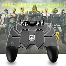 AK66 Six Fingers Game Controller Trigger Shooting Gamepad for PUBG Phone Games