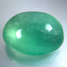 27.78 CTS 20x16MM DAZZLING NATURAL GREEN FLUORITE LOOSE GEMSTONE