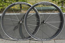"Rare 28"" CAMPAGNOLO SHAMAL Black 9s 10s HPW Record Laufradsatz Wheelset 700C VGC"