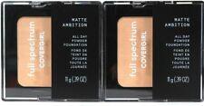 2 Ct Covergirl 0.39 Oz Full Spectrum Matte Ambition FS105 Light Neutral Powder