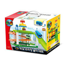 TAYO the Little Bus Parking lot, Garage Play Toy Set & Mini Tayo Bus Kids Gift