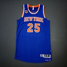 """100% Authentic Derrick Rose 2015 Knicks Game Issued Jersey Size XL+2"""" - used"""