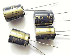 470uf 16v 105c LOW ESR  size 12.5mmx10mm Panasonic EEUFC1C471  x4pcs