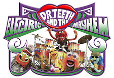 The Muppets Dr Teeth T-Shirt Boys Girls Kids Age 3-15 Ideal Gift/Present