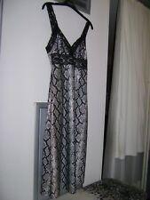Betsey Johnson 90s Snakeskin Print Glam Rock Bodycon Stretch Dress-Backpack Set