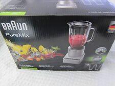NIB Beautiful BRAUN PUREMIX BLENDER + 2 SMOOTHIE2Go CUPS HeavyDuty 670W Orig$129