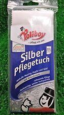 (3,90€/Stück) Poliboy SILBER PFLEGETUCH XXL SILBERTUCH mit Anlaufschutz, Gold