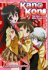 KANOKON Complete Series NEW SEALED Anime DVD ECCHI Harem Fanservice Romance