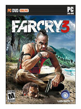 Far Cry 3 (PC, 2012), brand new, sealed fast shipping.