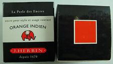 ENCRE J HERBIN COULEUR ORANGE INDIEN CALLIGRAPHIE INK ORANGY ARANCIONI COLOR