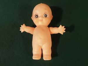 "Vintage Kewpie Doll With Wings Very Rare 5.5"" Vinyl Miniature Toy"