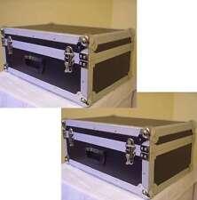2 x Universal-Geräte-Koffer-Case schwarz Transportkoffer 60x40x26cm Flightcase