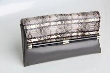 Diane Von Furstenberg 440 Evlp Embossed Womens  Wallet Clutch  Snake Clutch