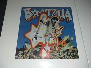 "MAXI / 12"" FUNK / SOUL BOOTSY'S RUBBER BAND ""BOOTZILLA"" 1979 UK LIMITED EDITION"