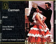 CD- Carmen-Bizet- Opera D'Oro- 1967--Herbert Von Karajan- 3 Discs- OPD-1151-