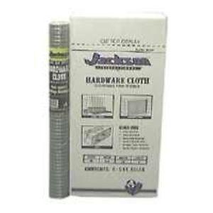 JACKSON WIRE 11031213 Hardware Cloth, 1/2' x 24' x 5'