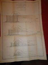 BUFFALO NEW YORK  -  2 MAPS & Report  -  Corps Engineers 1905