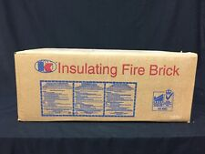 "K-20 Insulating Firebrick 9"" x 4.5"" x 2.5"" Thermal Ceramics Fire Brick Box Of 25"