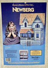 NOS DURA CRAFT WOODEN DOLLHOUSE KIT NB180  NEWBERG MANSION FACTORY SEALED