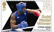 UK Team GB Gold Medal Winner Single Stamp Anthony Joshua MNH 2012