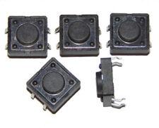 Interruptor plano pulsador / Tactile Switch 12x12x5mm 4 pin x5 units