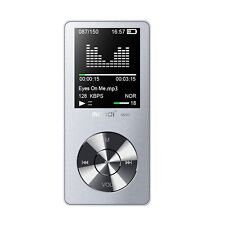 Mymahdi 8GB Tragbarer MP3 Player (erweiterbar bis 128GB) Music Player/One-Key...
