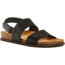 The Men's Store Para Hombre De Cuero Zapatos Sandalias De Tiras Tobillo plantilla BHFO 3536