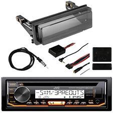 JVC CD MP3 Bluetooth Marine Radio Receiver, Metra Wheel Control, Kit & Antenna