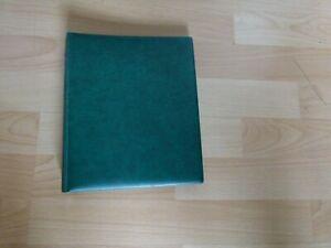 Lindner Ersttagsblatt-Album 1103E in Grün mit Hüllen
