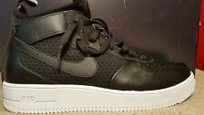 NIKE AIR FORCE 1 ULTRAFORCE MID Size 12.5 Black White 864014-001 Mens Shoes NEW