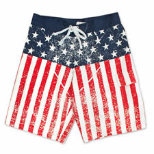 5a63ecb08c USA Flag Board Shorts for Men for sale | eBay