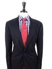 d22e3e7c0e4 Brooks Brothers Mens Navy Blue Pure Cashmere 2 Button Sport Coat Blazer 42L