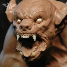 Andy Bergholtz The Wolf Werewolf Translucent Resin Bust