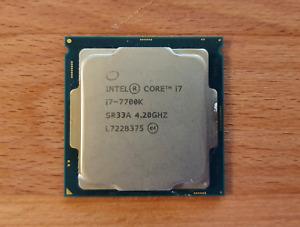 Intel Core i7-7700K - 4,20GHz - LGA 1151