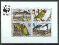 WWF - Sambia - Vögel Birds - 1996 - seltener Block -perfekt erhalten- **/MNH