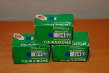 Lot of 3 Fujichrome Professional 64T slide film RTP 135 (Exp: 11/1997)