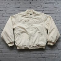 Vintage Derby San Francisco Quilted Lined Jacket White