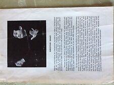 A1s ephemera 1974 programme hiroyuki iwaki conductor