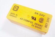 SDS Relais S4-24V 24V 4xEIN 250V 4A Panasonic Gold #20R14#