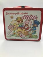 1980 Aladdin Strawberry Shortcake Vintage Lunchbox American Greeting Corp