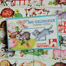 Les animaux, domino-puzzle,Fernand nathan,French vintage puzzle game illustrated