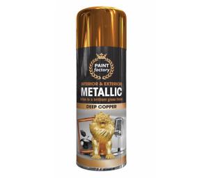 All-Purpose Aerosol Spray Paint Matt Gloss Metal Wood Plastic 200,250,300& 400ML