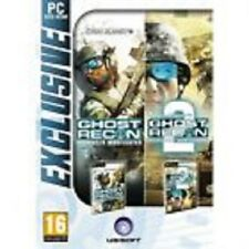 ELDORADODUJEU   PACK GHOST RECON ADVANCED WARFIGHTER 1 ET 2 Pour PC VF NEUF