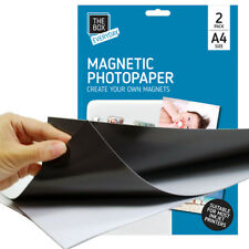 A4 MAGNETIC GLOSS PHOTO PAPER INKJET DIGITAL FRIDGE MAGNET PRINTING PRINT