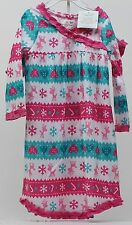 Jumping Beans Toddler Girls Striped Nightgown & Matching Doll Nightgown Size 2T