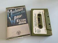 Elton John  cassette madman across the water, ZCDJL 420 1971 vtg retro (17