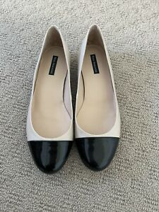 Nina Armando Ballet Shoe 38/7  Tan/Black