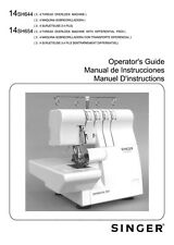 Singer 14SH654-LED-Version Sewing Machine/Embroidery/Serger Owners Manual