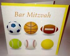 Bar Mitzvah Jewish Birthday Card For Boy Mazel Tov Hebrew Greeting Cards